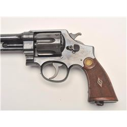 Smith and Wesson .455 MK. II Hand Ejector  revolver, .455 caliber, Serial #5233.  The  pistol is in