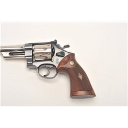 Smith and Wesson Pre-Model 27 revolver, .357  Magnum, Serial #S-163843.  The pistol is in  fine over