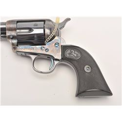 "Colt First Generation SAA revolver, .32  W.C.F. caliber, 7.5"" barrel, blued and case  hardened finis"