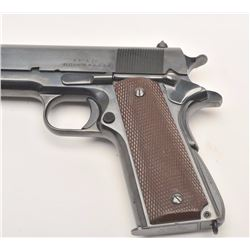 Very rare and highly desired Singer Mfg. Co.  Model 1911A-1 semi-automatic pistol, .45  caliber, 5""