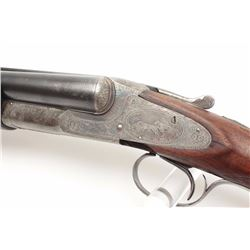 "L.C. Smith Crown Grade SxS Shotgun in 12GA  with 30"" barrels, factory vent rib, single  trigger (mar"