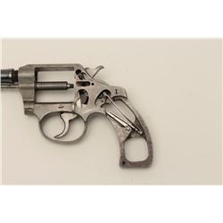 """Colt Police Positive B cut-away model with a  3 ½"""" barrel.  The pistol is chambered in .32  caliber"""