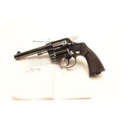 """Colt New Service Factory cut-away from the  Colt Factory Collection.  The pistol features  a 5 ½"""" ba"""