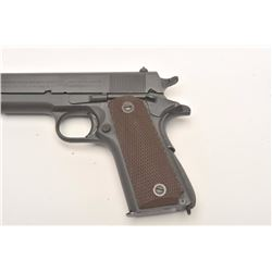 Colt 1911 A1 U.S. Army semi-auto pistol, .45  caliber, Serial #1670174.  The pistol is in  excellent