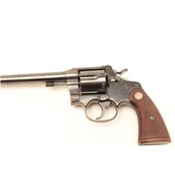 Colt New Service Target revolver, .45 Auto  cartridge caliber, Serial #342004.  The  pistol is in fi