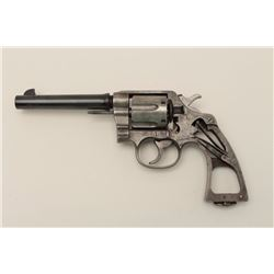 Colt New Service U.S. Army Model 1917  cut-away revolver, .45 caliber, Serial  #163133.  Formerly in