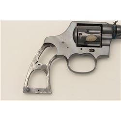 Colt New Service U.S. Army Model 1917  cut-away revolver, .45 caliber, Serial  #349938.  Formerly in