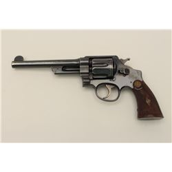 Smith and Wesson 1st Model Hand Ejector  revolver, .44 S&W Special caliber, Serial  #13219.  The pis