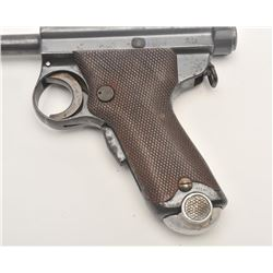 "Japanese ""Grandpa"" Nambu semi-automatic  pistol, Navy-marked ""TGE"", 8mm caliber, 4.75""  barrel, mili"