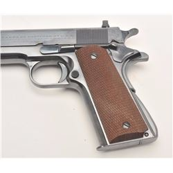 "Colt Ace Model semi-automatic pistol, .22LR  caliber, 4.75"" barrel, blued finish, Bfinish,  fine bor"