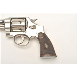 Smith and Wesson 1st Model Hand Ejector  revolver, .44 S&W Special caliber, Serial  #4902.  The pist
