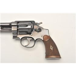 Smith and Wesson 1st Model Hand Ejector  revolver, .44 S&W Special caliber, Serial  #3196.  The pist
