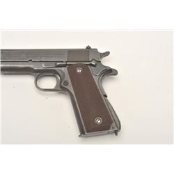 Colt 1911 A1 Transition U.S. Army semi-auto  pistol, .45 caliber, Serial #742469.  The  pistol is in