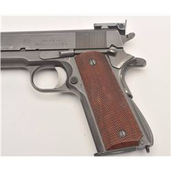 "Union Switch & Signal NM Military 1911A-1  semi-automatic pistol, .45 caliber, 5""  barrel, parkerize"