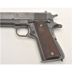 "U.S. Property marked Union Switch & Signal  Model 1911-A1 semi-automatic pistol, .45  caliber, 5"" ba"