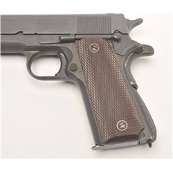 """United States Property marked Model 1911-A1  by Ithaca semi-automatic pistol, .45 caliber,  5"""" barre"""