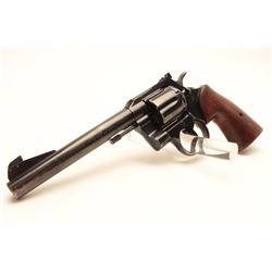 Colt Officer's Match Model revolver. .38  Special caliber, Serial #930707.  The pistol  is in very g