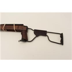 Original carbine stock and forend for a U.S.  M1 Paratrooper, with oiler and good ordinance  wheel c