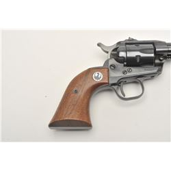 """Ruger Single Six Model revolver, .22 caliber,  with companion extra cylinder, 6.5"""" barrel,  blued fi"""