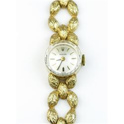 High quality Vintage ladies Rolex watch  weighing approx. 1 ounce in 14 karat yellow  gold. Estimate