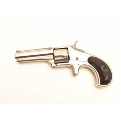 Remington Smoot revolver, .32 caliber, Serial  #NSNV.  The pistol is in very good overall  condition