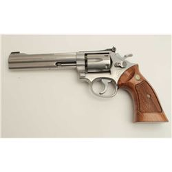 Smith and Wesson Model 617 revolver, .22 Long  Rifle caliber, serial #BEE4124.  The pistol  is in ve