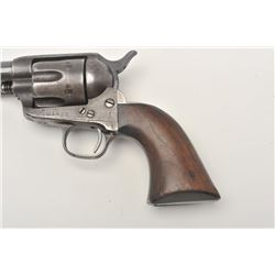 Colt U.S. Springfield Armory Artillery Model  SAA revolver (all matching visible numbers  except bar