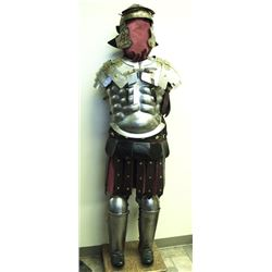 Suit of Greek Armor made for Movie  Production, ca. 1950s-60s; very good helmet  and well formed; br