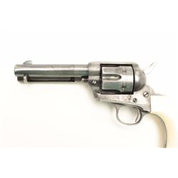 "Colt SAA revolver, .32 W.C.F. caliber, 4.75""  barrel, blued finish, ivory grips, S/N  236366, in ove"