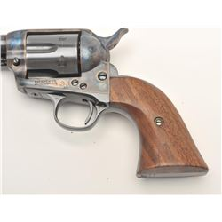 "Colt SAA revolver, scarce .38 Colt caliber,  5.5"" barrel, re-finished and re-gripped with  smooth cu"