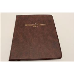 Book of Roosevelt Dimes 1946-1979(s) Complete  83 coins-in book. All uncirculated,  averaging MS62-6