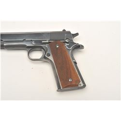 "Colt early post-WW II Government Model  semi-automatic pistol, .45 caliber, 5""  barrel, blued finish"