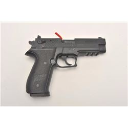"Sig Sauer NRA-marked Mosquito Model  semi-automatic pistol, .22LR caliber, 4""  barrel, mat black fin"