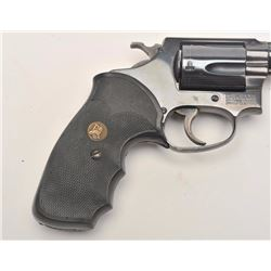 "Smith & Wesson early flat latch Model 36 DA  revolver, .38 S&W Special caliber, 2"" barrel,  blued fi"