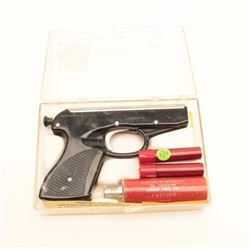Apache Rescue Gun Flare pistol.  The pistol  is as new in the factory box with all  packaging materi