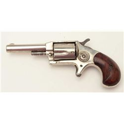 "Red Jacket No. 6 spur trigger revolver, .30  caliber, 2.75"" barrel, nickel finish, wood  grips, S/N"
