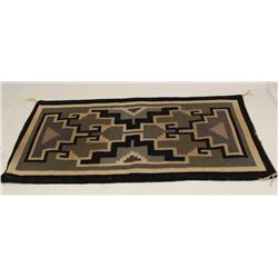 Small Navajo rug.      From the estate of  Elmer E. Taylor.     Est.:  $100-$200.