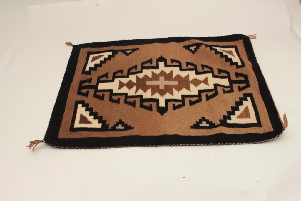 Image 1 Small Navajo Rug From The Estate Of Elmer E Taylor