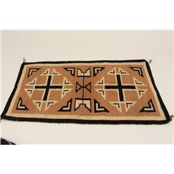 Navajo rug.      From the estate of Elmer E.  Taylor.     Est.:  $100-$200.