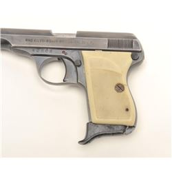 Rino Galesi-Rigarmia-Brescia semi-auto   pistol, .22 lr caliber, serial #30506.  The   pistol is in