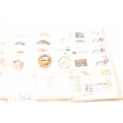 Lot of approximately 175 commemorative U.S.  stamps on dated issue envelops, mostly NASA  and space