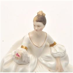 """Royal Dalton """"My Love"""" figurine,  approximately 7"""" in height.      Est.:   $50-$100."""