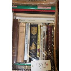 Approx. 25 Misc. books on various subjects,  including Early Firearms, Headwaters of the  Mississipp