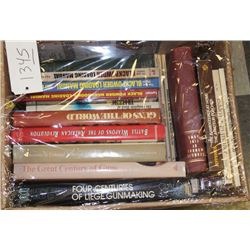 Lot of approximately 22 misc. books including   a number on fur trapping and poachers; also   Brown'