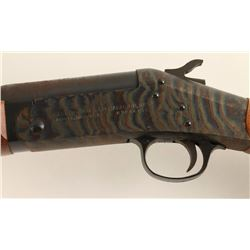 "H&R Topper Model 58 Single Shot Shotgun, 20  GA, 28"" Barrel, walnut wood stock, blue  finish, S/N AM"