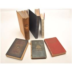 """Lot of 6 old hardback books including  """"Lindbergh, The Lone Eagle; His Life and  Epoch Making Flight"""