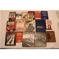 Lot of approximately 21 books on various  subjects including 6 volumes of the Time-Life  Series on W