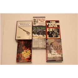 """Lot of approximately 19 misc. books on  entertainment plus 4 sets of CD's including  """"The Best of Ra"""