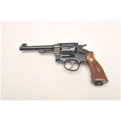 Smith and Wesson Hand Ejector Model of 1917,  .45 ACP caliber, Serial #210167.  The pistol  is in ne