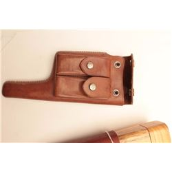 Mauser Broomhandle accessory lot including 3  Chinese holsters, all very good + and a  reproduction